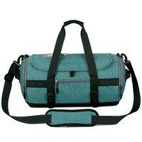 Gym Bag Waterproof Shoulder Sport Gym Bags for Shoes Storage Women Fitness Yoga Training Bag Men's Gymnastic Handbag QL