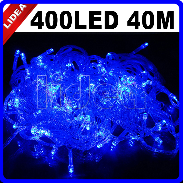 40M 400 LED Wedding Party Garden Home New Year Xmas Navidad Fairy String Garland LED Christmas Outdoor Decoration Light HK C-34 30m 300 led 9 colors wedding garden new year xmas navidad garland led christmas decoration outdoor fairy string light cn c 33