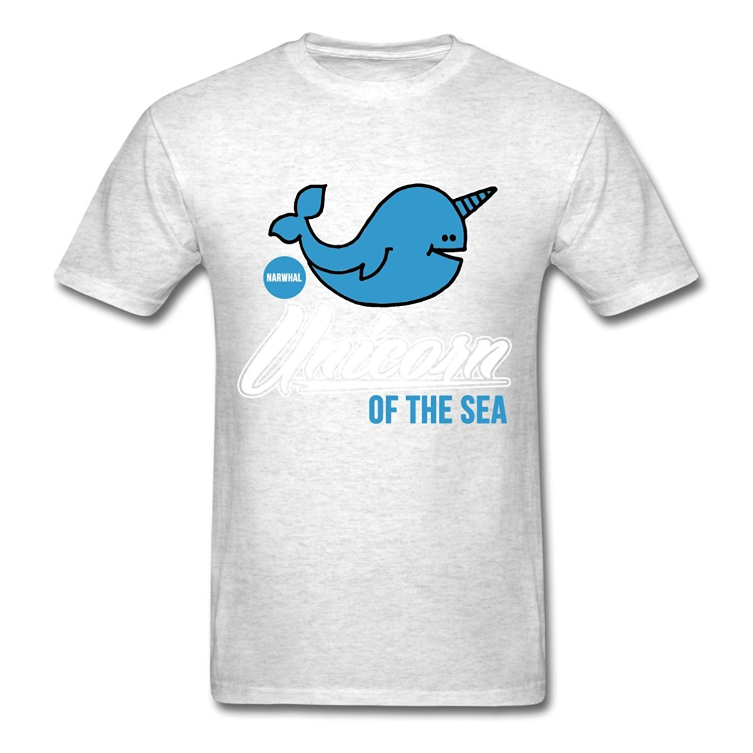 Narwhal Funny Unicorn Of The Sea Mens T-Shirt