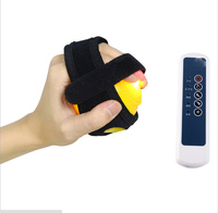 Electric Infrared Heat Hand Massager Ball Massage Hand & Fingers Physiotherapy Rehabilitation Health Care Vibration Adjustable