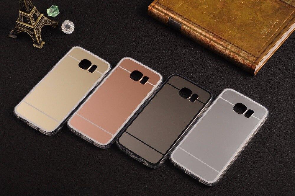 Luksusowe Rose Gold Mirror case do samsung galaxy s5 s6 krawędzi plus s7  krawędzi note5 N4 N7 N3 A3 A5 A7 A8 2016 J3 J5 J7 Make-up s8 plus bb5c73f27a98