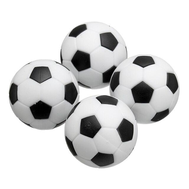 b246d906981ea Kiwarm Mini 4 pcs Preto Branco 35mm Ofício Plástico De Futebol Bolas De Futebol  Futebol de