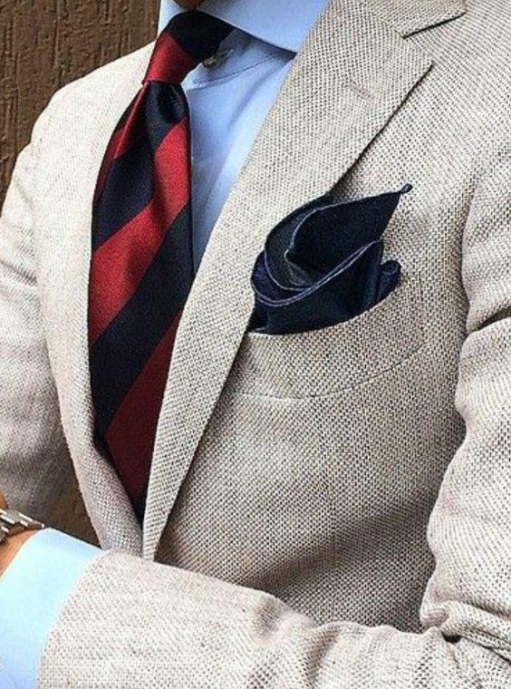 Classic Style Tweed Men Suits Slim Fit Two Buttons Notch Lapel Mens Tuxedos Blazer wedding suits for men (jacket+pant)