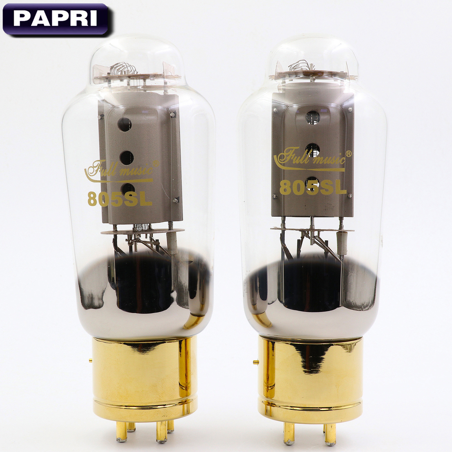 New TJ Fullmusic 805SL Vacuum Tube Vintage DIY Replace 805 Tube For HiFi Amplifier Audio Speaker 2PCS/Lot Test Matched Pair brand new matched pair quad tj fullmusic kt88 cne kt88cne vacuum power tube replace kt88 6550 hifi vintage tube audio amp diy