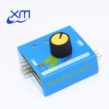 Servo Tester Gear Test CCPM Consistency Master Checker 3CH 4.8-6V with Indicator Light A73