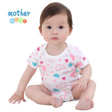 Baby Bodysuit 2018 Fashion Heart Printed Pattern Toddler Ropa Baby Pajamas Body