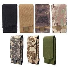 b08369e9d453 Chaude 5 Pouces Tactique Holster MOLLE Armée Camo Camouflage Sac Crochet  boucle Ceinture de Poche de