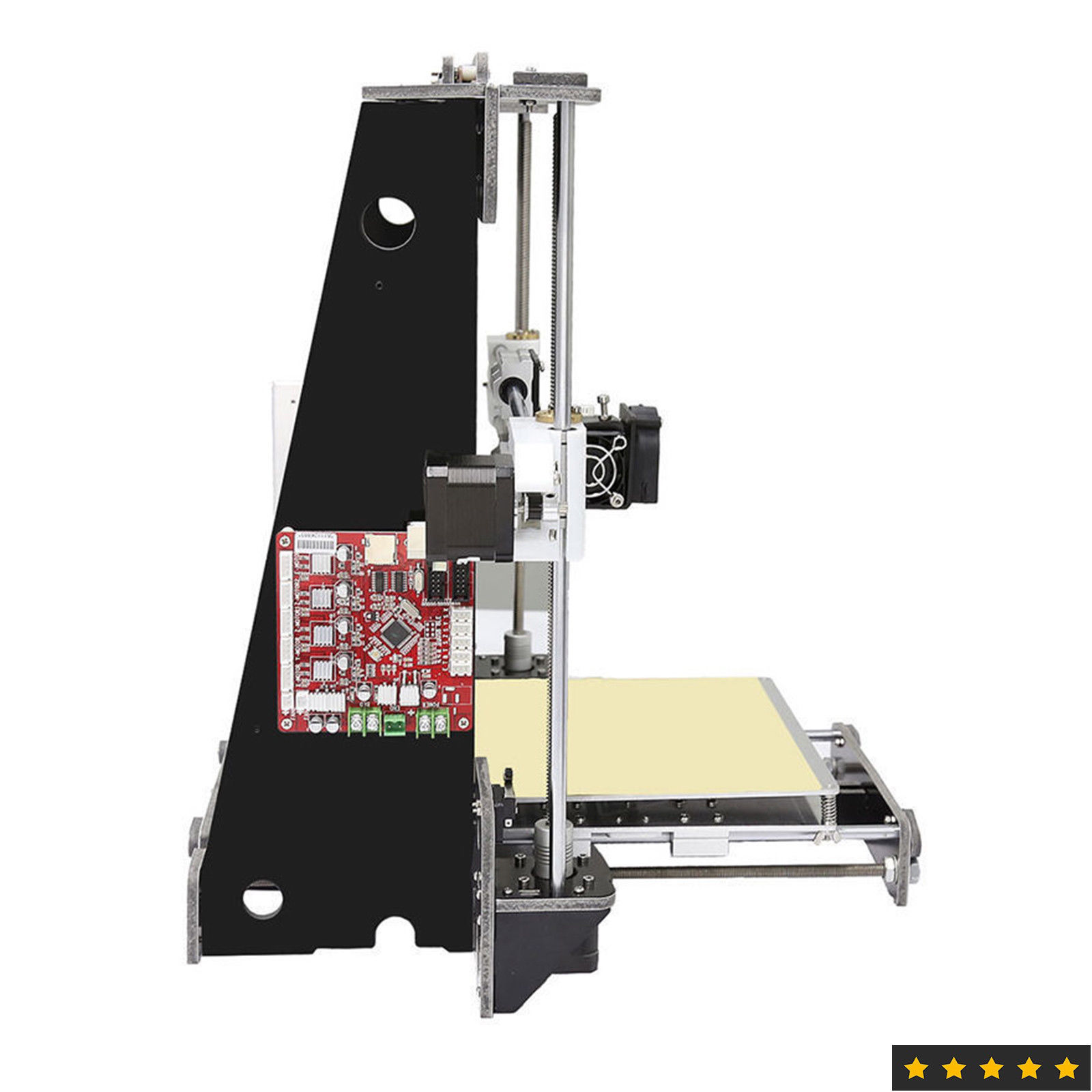 3D Drucker A8 Drucker 3d Prusa i3 Reprap Heatbed 220*220*240MM Impresora 3d Stromausfall Lebenslauf druck