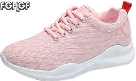 3cbbe2ee Korean Women Shoes Woman Runner Trainer White Shoes Lolita Shoes Zapatillas  Mujer Casual Tenis Feminino Adulto