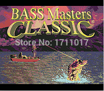 Bass Masters Classic Professional 16 bit MD Game Card For Sega Mega Drive For Genesis