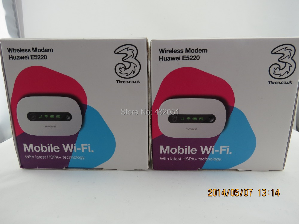 ФОТО Low Price mobile MIFI 3G 21Mbps WIFI Router Huawei E5220 for 10 users