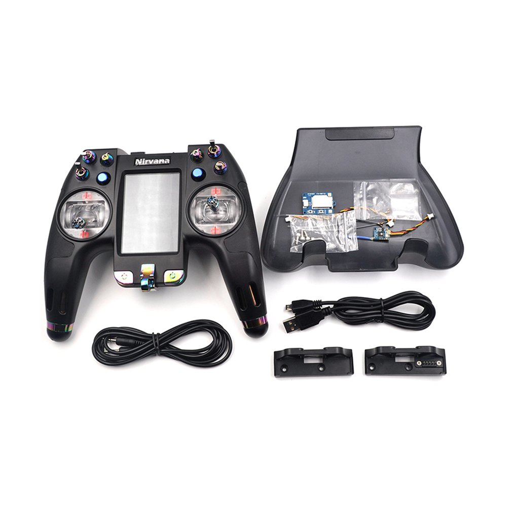 Flysky FS-NV14 2.4G 14CH Nirvana Remote Controller Transmitter Open Source with iA8X RX for FPV Racing Drone RC Helicopter Parts flysky fs nv14 2 4g 14ch nirvana remote controller transmitter open source with ia8x rx for fpv racing drone rc helicopter