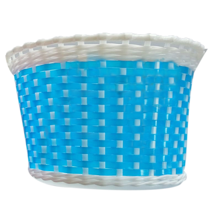 Children Bicycle basket Shopping basket Luggage carrier Handlebar basket Bike handle basket Blue