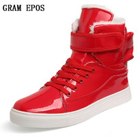GRAM EPOS New Hot Retro Style Men S Casual Shoes Super Warm Snow Boots Winter Men