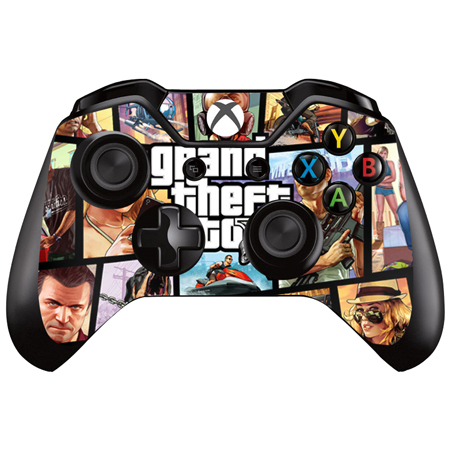 5 style Grand Theft Auto Skin for xbox one Controller skin