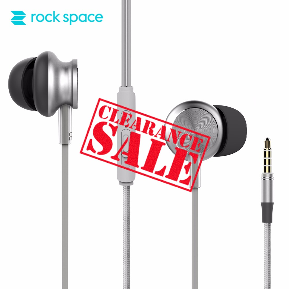 ROCK Stereo Earphone, Ear Hook Headphones Earbuds Bass Headset with Mic for Samsung Xiaomi Xiao iPhone 6 7 8 With MIC Support cyboris sports wireless bluetooth earphone stereo earbuds headset bass headphones with mic in ear for iphone 7 for samsung s8