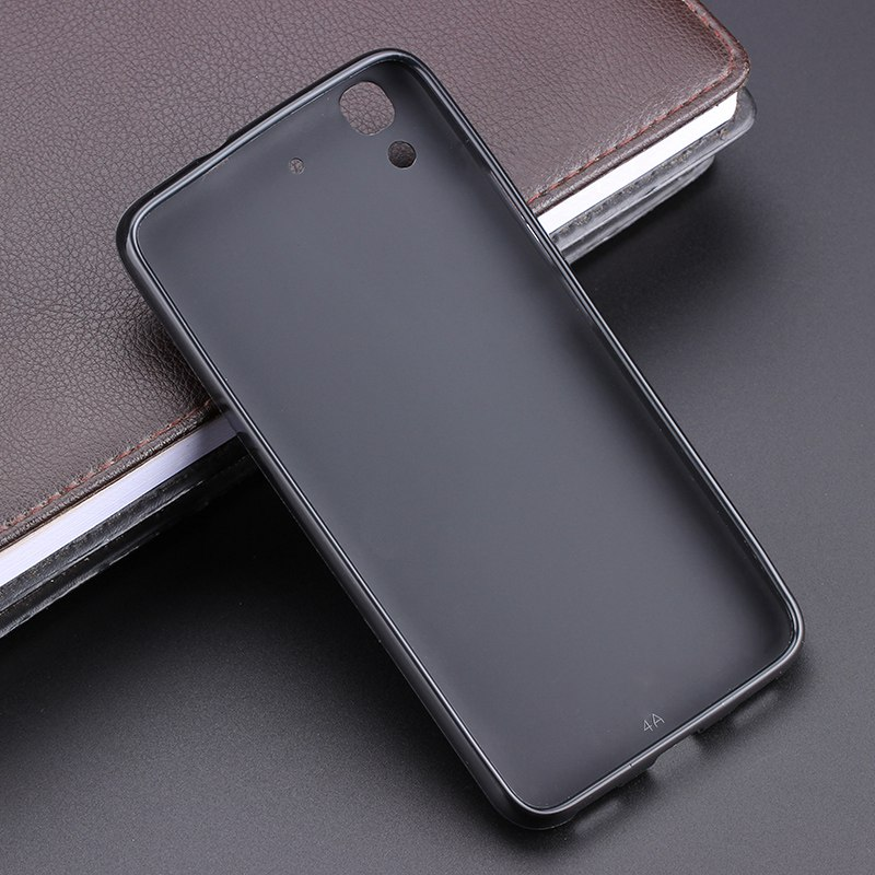 Black Gel TPU Slim Soft Anti Skiding Case Back Cover For Huawei Y6 Honor 4A Mobile Phone Rubber silicone Bag Coque Fundas