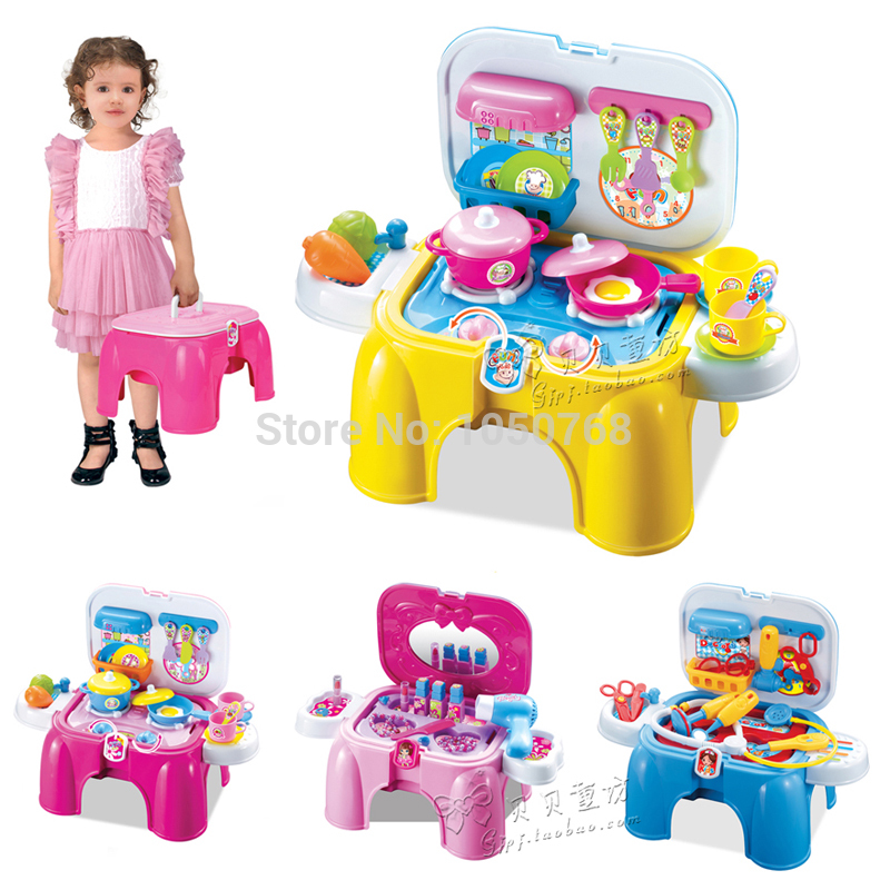 new arrivalchildren play toy kitchen medical dressing table portable