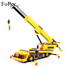 KAZI 8045 Excavator Engineering Crane Building Blocks Education Legoing City Technic Truck Construction Brick Toys For Children цена в Москве и Питере