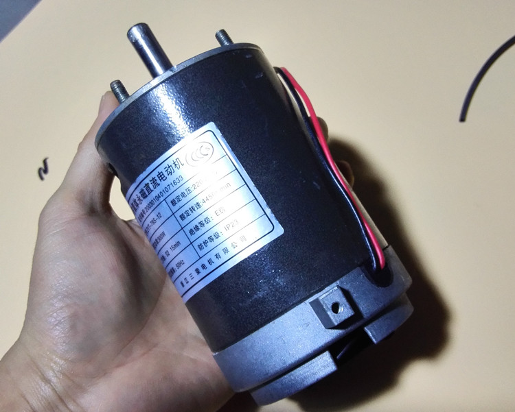 300W ferrite permanent magnet DC motor 220V high power and high torque motor electric table saw