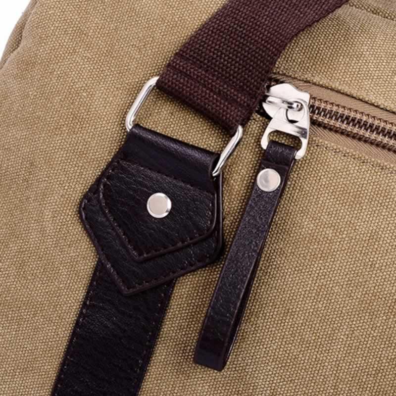 bolsa de ombro da lona Ocasião : Versátil