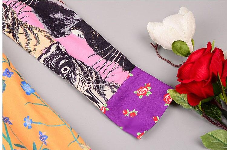 Haute Floral Pourpre À Casual Femmes Longues Robe Robes Vintage Arc Qyfcioufu D'été De Genou Animal Imprimé Qualité 2018 Manches Piste Longueur pq5wnRZ4