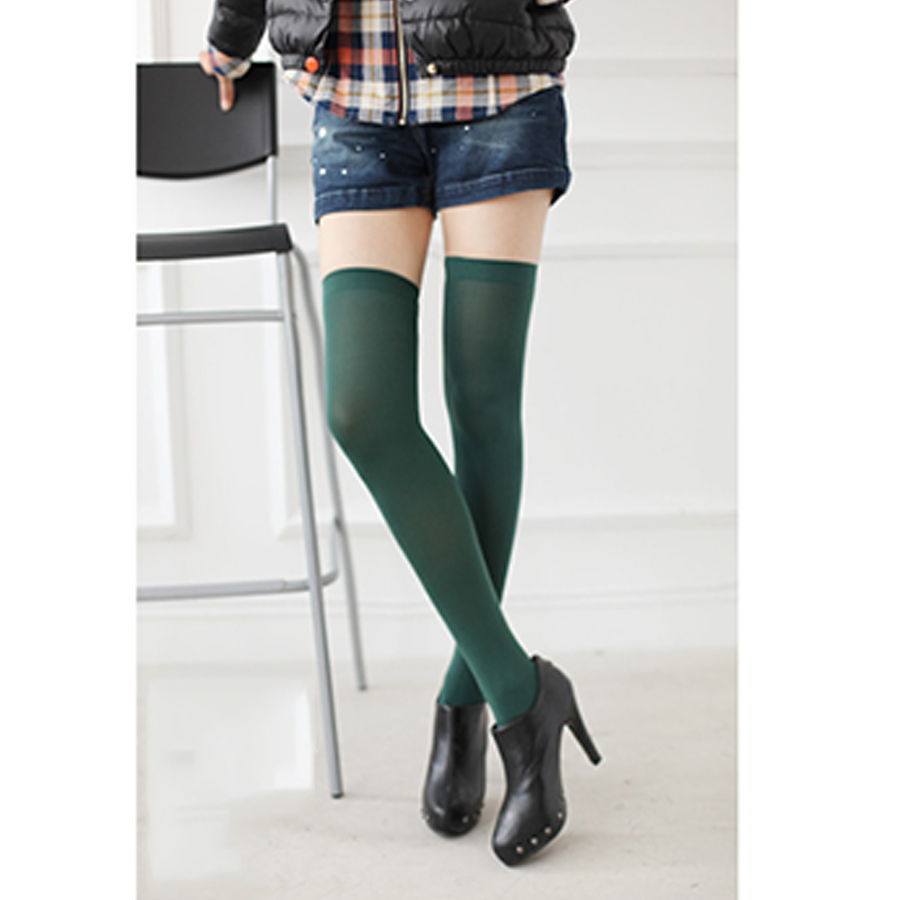 2 Pairs/lot Sell Random Delivery 2016 New Fashion Women's Socks Sexy Warm Thigh High Over The Knee Socks Long Stockings