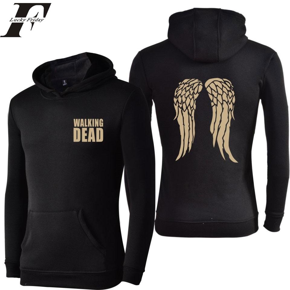 2017 The Walking Dead harajuku men Women tracksuit Hoodies And Sweatshirts Autumn Winter Brand clothing tumblr Sweatshirt