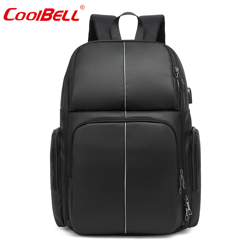 coolbell Newest Laptop bag for 17 3 inch Notebook External USB business Leisure Backpack Student bag
