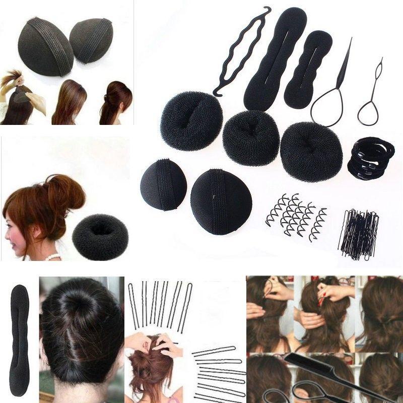 Professional Hair Braid Tools Twist Style Clip Stick Bun Maker Diy