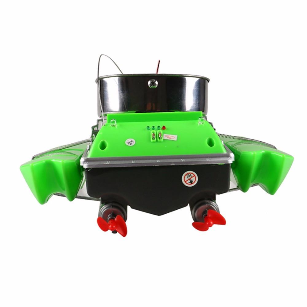 Bateau télécommandé mis à jour poisson finder bateau jouets pour enfants adulte 300 m anti herbe vent haute vitesse mini rapide rc appâts de pêche - 5