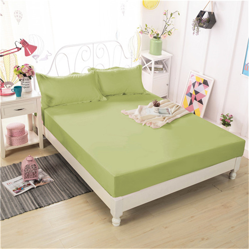 Home Bedding 3pc Fitted Sheet + Pillowcase High Quality New Style Fashion Hot Polyester Fiber Comfortable Breathable