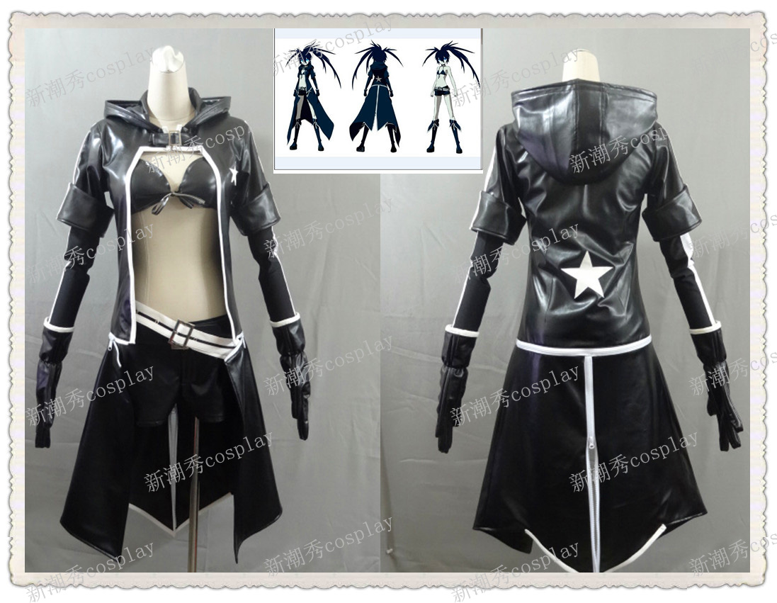VOCALOID Black Rock Shooter Miku cosplay costume