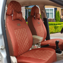 Wysokiej jakości pokrowce na siedzenia samochodowe dla SsangYong Korando Actyon Rexton przewodniczący Kyron czarny/szary/niebieski samochód akcesoria samochodowe naklejki