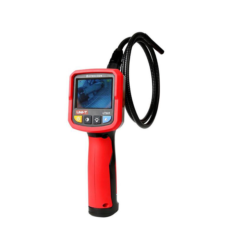 Image 3 - UNI T UT665 Handheld Industrial Borescope Professional Endoscope Vehicle Maintenance Inspection Pipeline   Detector with Waterpr-in Borescopes from Tools