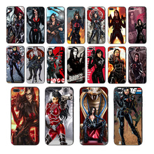 Soft mobile phone case The baroness black TPU for iphone cover x xs max xr 6 7 8 6s plus se 5 10 5s silicone shell Comics Coque цена