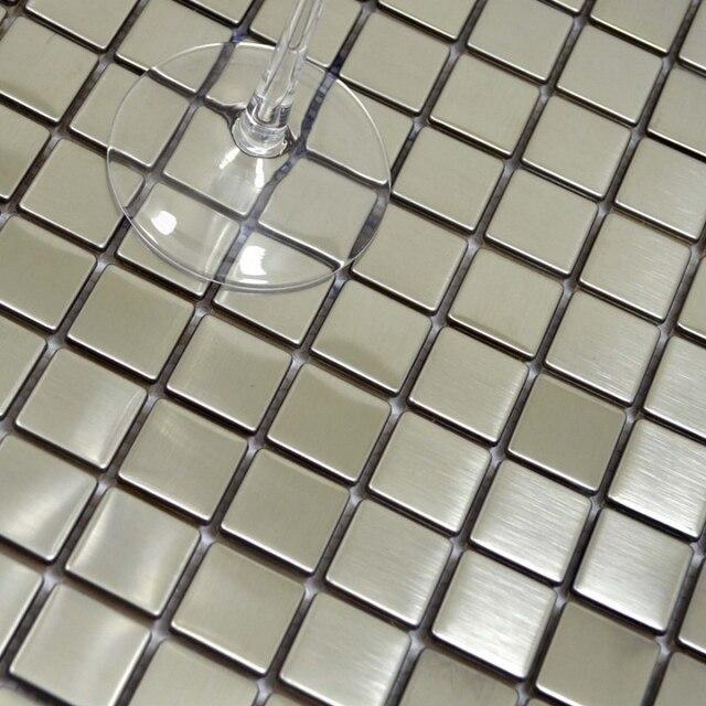 25mm banco de estirar la plata cuadrada de acero inoxidable metal ...