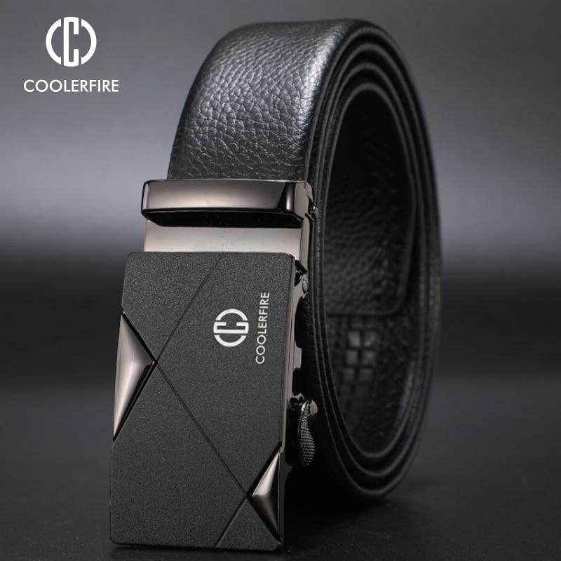 TOGIC Fashion Men Cowskin Genuine Lether Ceintures Homme Belts Cummerbunds Quality Male Strap By Factory
