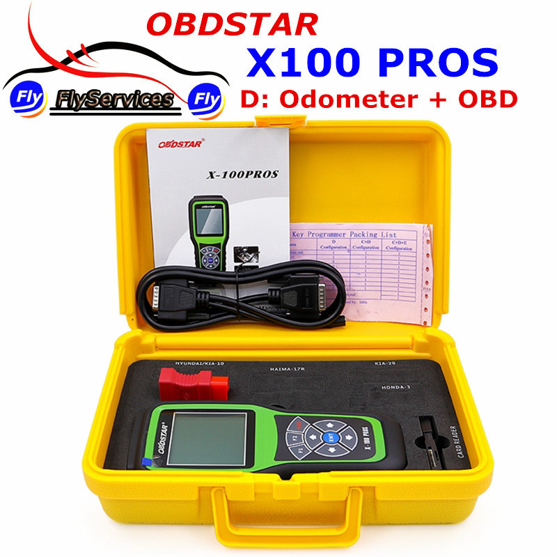 Obdstar X-100 плюсы (d модель) регулировка одометра X100 Pro для пробег X 100 плюсы обновление онлайн ...