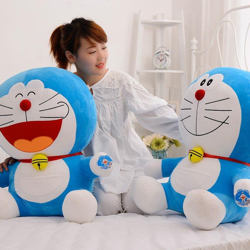 70cm Doraemon Kawaii caricatura suave muñeca de peluche de juguete Animal de peluche para bebés niñas niños amantes niños regalo de Navidad de buena calidad - 2