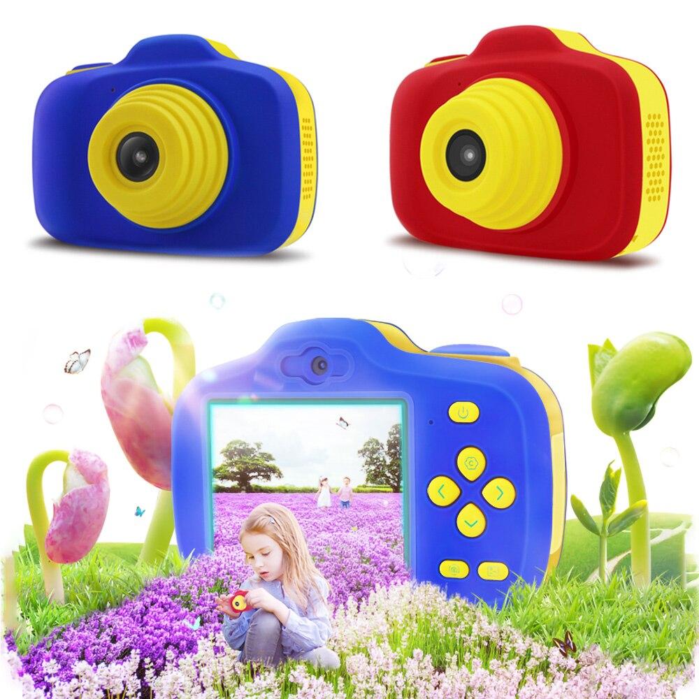 X-903 enfant en bas âge Mini caméra numérique enfants Double lentille HD Photo vidéo garçon et fille bande dessinée caméra enfants jouets cadeau éducatif - 2