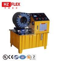 Made in China semi-automáticas 51mm HZ-51F prensa hidráulica de friso da mangueira