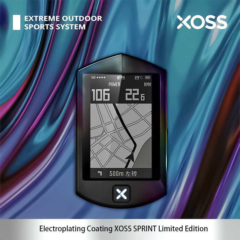 Xoss gps サイクリングコンピュータスプリントワイヤレススピードメーター道路 mtb bluetooth ant + 速度ケイデンスセンサー gps ナビゲーションバイクコンピュータ