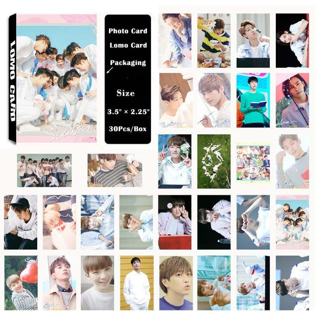 Yanzixg kpop seventeen album loveletter self made paper lomo card yanzixg kpop seventeen album loveletter self made paper lomo card photo card poster hd photocard thecheapjerseys Image collections