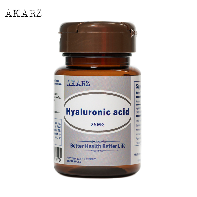 AKARZ Famous Brand Hyaluronic Acid Skin Face Anti-Aging 25MG
