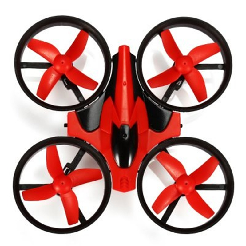 Eachine E010 Mini Drone 2.4G 4CH 6 Axis 3D Headless Mode Geheugenfunctie Rc Quadcopter Rtf Tiny Gift Present kid Speelgoed 3