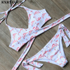 MOOSKINI 2017 Hot Sexy Cross Brazilian Bikinis Women Swimwear Beach Bathing Suit Push Up Bikini Set