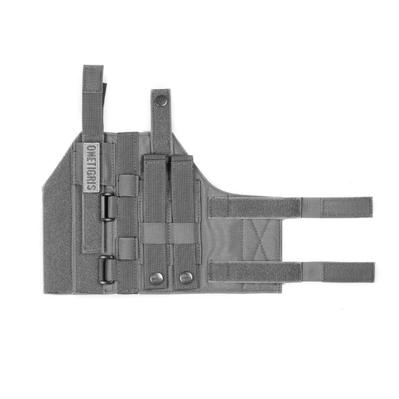 OneTigris Tactical Gun Holster Molle Modular Belt Minimalist Pistol Holster for Glock 17 19 22 23 31 32 34 35