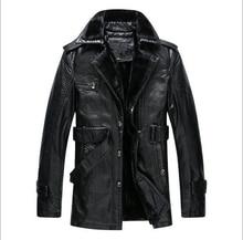 2016 NEUE Marke Männer Echte Lederjacke Winter Mantel Nerz Liner/Schwarz/braun/Einfache/schaffell outwear EDA127