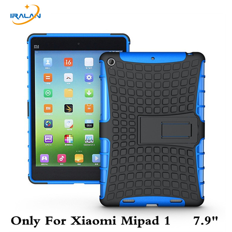 Shockproof Heavy Duty Rubber Cover Case For Xiaomi Mipad 1 7.9 Tablet Hard TPU+PC Shell For Xiaomi Mi Pad1 7.9 A0101+film+stylus